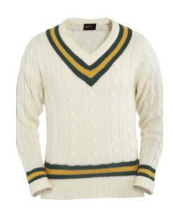 Readers-green-gold-green-long sleeve-cricket-sweater