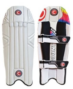 Hunts County Aura wicketkeeping pads