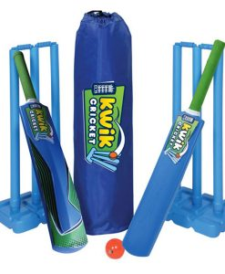 Kwik-cricket stumps and bat set