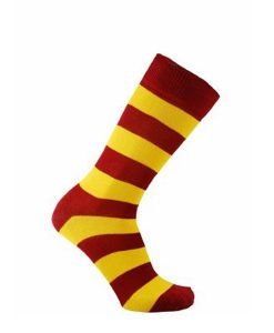 Horizon striped cotton mcc coloured socks