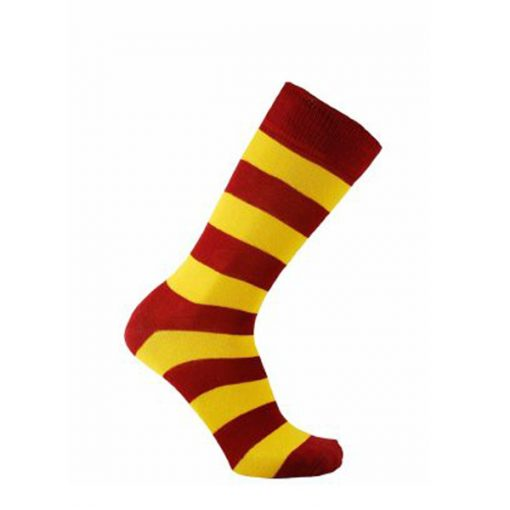 Horizon striped cotton mcc coloured socks