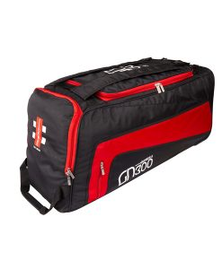 gray nicolls-red-GN300-junior-wheelie-duffle-cricket-bag