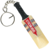mini cricket bat keyring