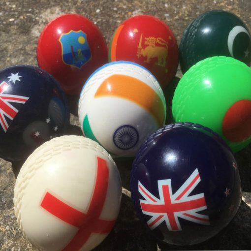 World cup Flag-soft-cricket-balls-group