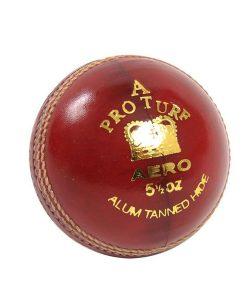 Aero Pro-turf-leather cricket ball